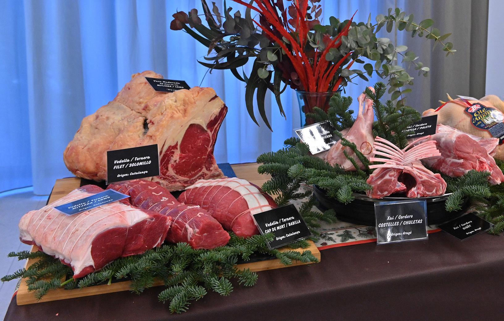 La empresa Sucarn ha presentado su selección de carnes maduradas