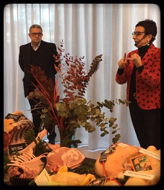 Carme Ruscalleda y Valentín Choya de Sucarn